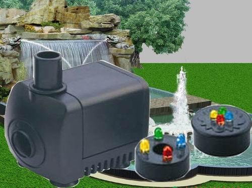 Sell (DB-339L)Fountain Pump With LED,pond With LED Lighting,water pump With LED Lighting